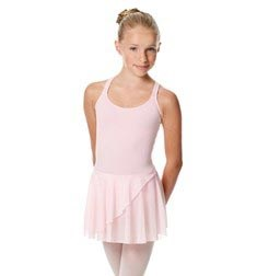 Child Strappy Skirted Ballet Leotard Linda