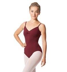 Womens Pinch Camisole Ballet Leotard Faina