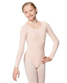 Long Sleeved Girl Leotard