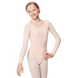 Long Sleeved Dance Leotard For Girls