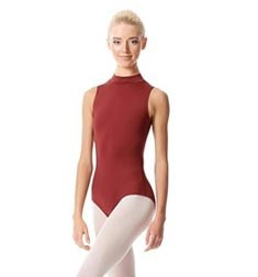 Womens Mock Neck Dance Leotard Belina