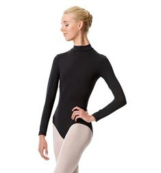 Long Sleeve Mock Neck Dance Leotard Liana