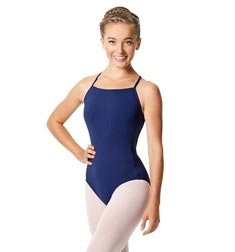 Womens Camisole X Back Dance Leotard Aisha