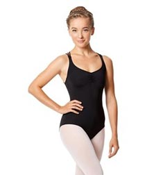 Womens Strappy Camisole Dance Leotard Judith