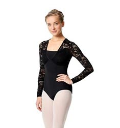 Womens Long Sleeve Lace Dance Leotard Jojo