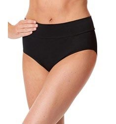 Womens Wide Waistband Dance Briefs