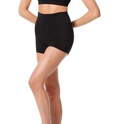Adult Wide Waistband Dance Shorts Janet