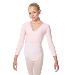 Girls Ballet Warm Ups Wrap Top Regina