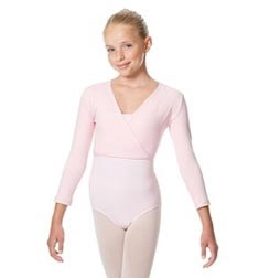 Girls Ballet Warm Ups Wrap Top Regina