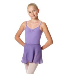 Girls Short Wrap Ballet Skirt Viola