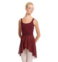 Womens Midi Wrap Ballet Skirt Felice