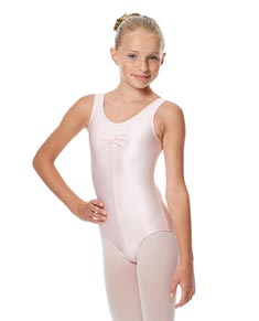 Girls Shiny Pinch Front Ballet Leotard Eleonore