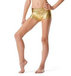 Girls Metallic Dance Shorts Janna