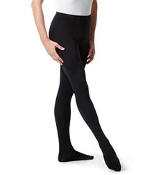 Mens High Waist Footed Dance Leggings Norbert
