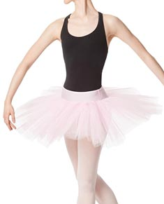 Adult Rehearsal Ballet 4 Layer Tutu Skirt