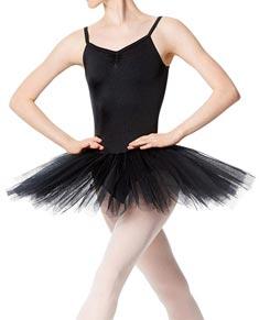 Adult Practice 4 Layers Tutu Dress