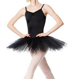 Adult Practice 4 Layers Tutu Dress