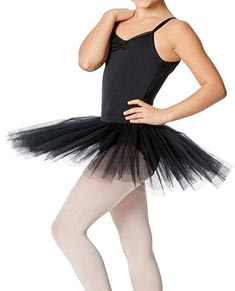 Girls Practice 4 Layers Tutu Dress
