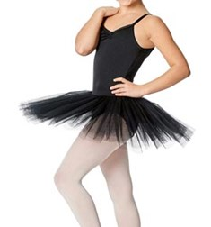 Girls Practice 4 Layers Tutu Dress