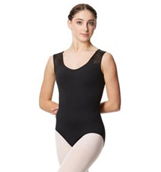 Flower Mesh Tank Leotard Skylar For Women
