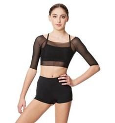 Mesh Cropped Dance Top Isla For Women