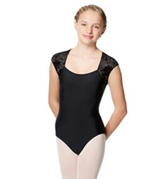 Velvet Cap Sleeve Dance Leotard Arya For Girls