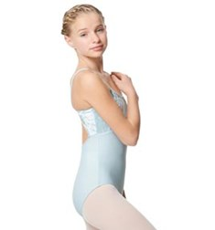 Velvet Camisole Dance Leotard Kayla For Girls