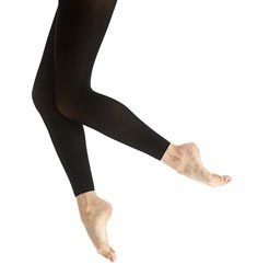 Girls Footless Dance Tights