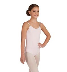 Child Princess Seams Camisole Ballet Leotard