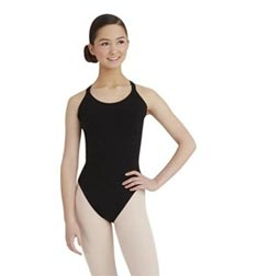 Womens Double Camisole Strap Ballet Leotard