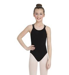 Childs Double Strap Camisole Ballet Leotard