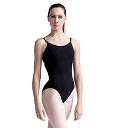 Womens Camisole Strappy Back Ballet Leotard