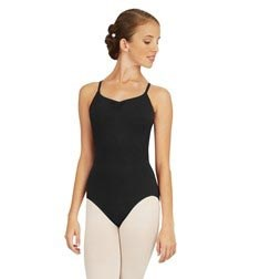 Womens Adjustable Camisole Straps Ballet Leotard
