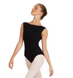 Adult Boat Neck Cut Dance Leotard