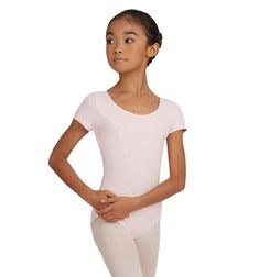 Childs Short Sleeve Cotton Ballet Leotard