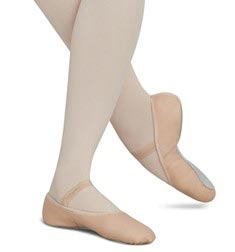 DAISY Full Outsole Leather Ballet Shoes