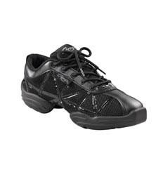 Black Patent Low Web DANSNEAKER Dance shoes