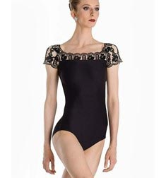 Adult Cap Sleeve Leotard EMMA