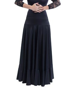 Girls Full Circle Flamenco Skirt