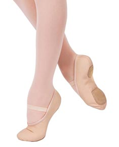 Kids Split Sole Canvas Ballet Shoes