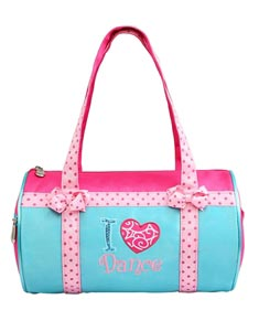 I Love Dance - Small Roll Duffel
