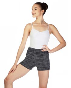 Marl Knit Dance Shorts