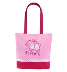 Love 2 Dance - Small Pink Dance Tote