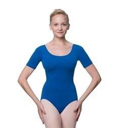 Adults Fitted Short Sleeve Ballet Leotard Lauretta