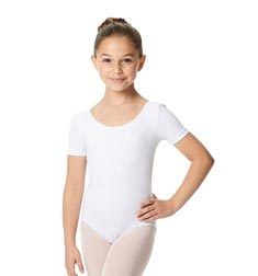 Child Short Sleeve Ballet Leotard Lauretta