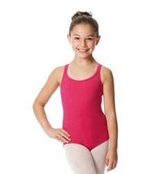 Child Camisole Strappy Back Ballet Leotard Yvette