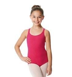 Child Camisole Strappy Back Ballet Leotard Yvette