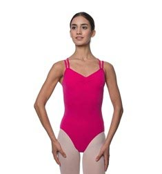 Adults Camisole Strappy Back Dance Leotard Lara