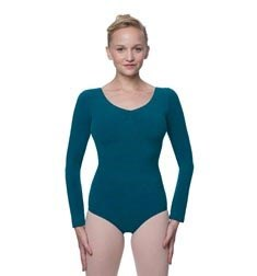 Pinch Front and Back Long Sleeve Dance Leotard Miranda