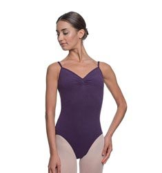 Womens Gathered Camisole Ballet Leotard Lourdes